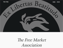 Tablet Preview of freemarketassociation.org